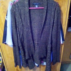 Women's cardigan sweater size large
